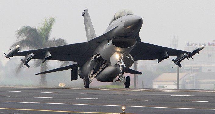 Caça F-16 da Força Aérea de Taiwan  (foto de arquivo)