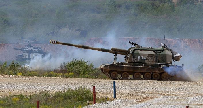 Tanque de artilharia Msta-S