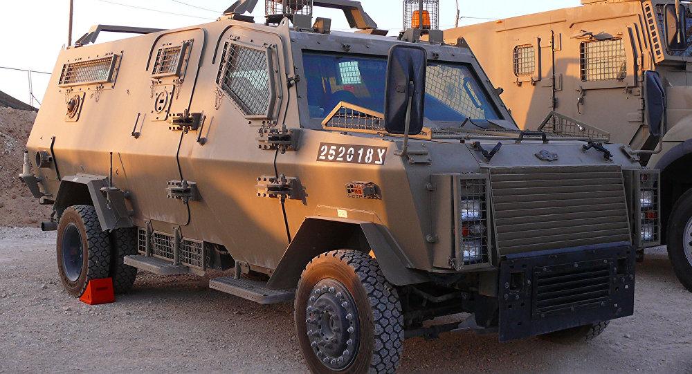 Veículo blindado Wolf (Lobo) das Forças Armadas de Israel, produzido pela empresa Carmor Integrated Vehicle Solutions