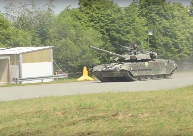 Tanque ucraniano