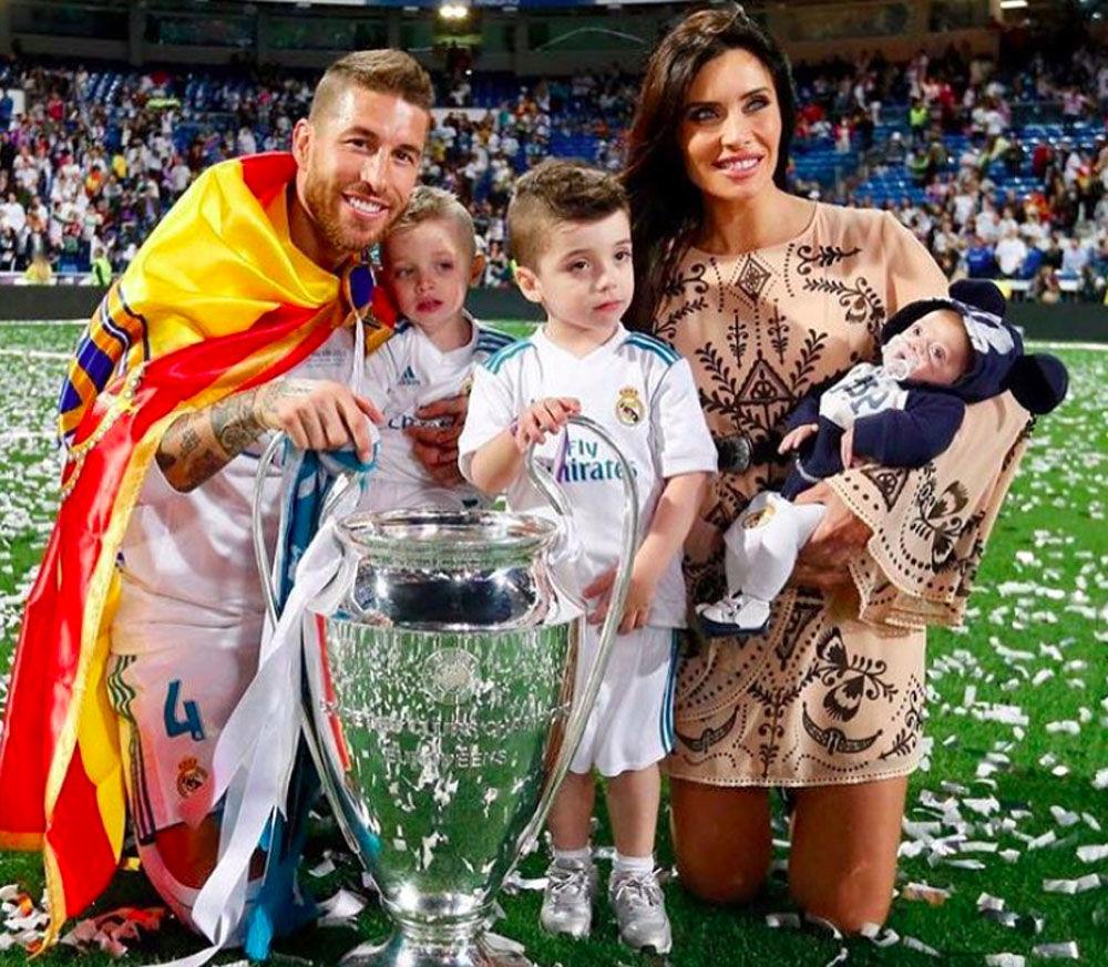 Pilar Rubio, esposa do zagueiro da Seleção Espanhola e do clube Real Madrid, Sergio Ramos