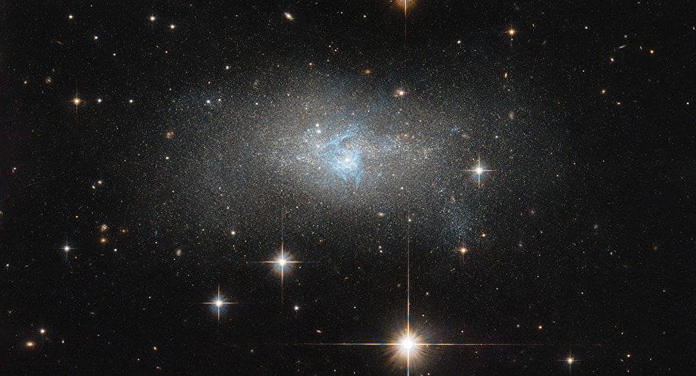 Galáxia anã IC 4870 (imagem referencial)