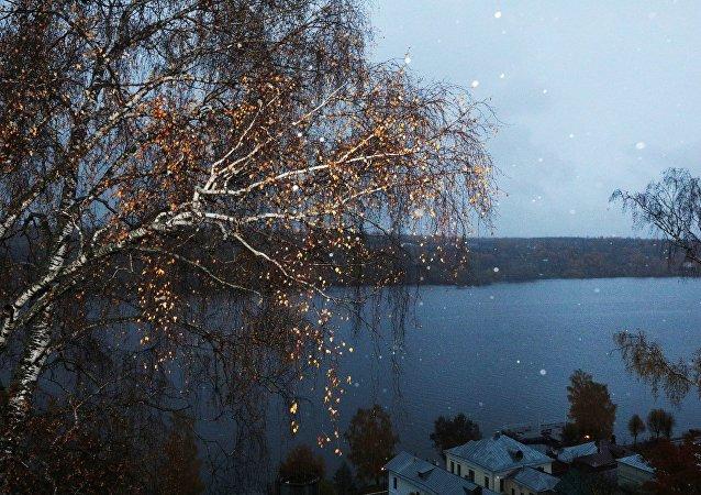 Rio Volga (foto de arquivo)