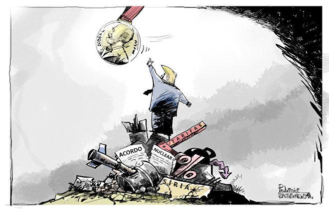 O que é preciso destruir para conseguir Nobel da Paz?