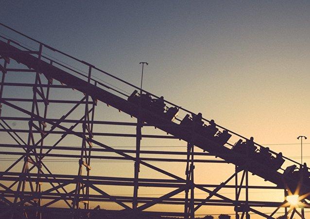 Montanha-russa (imagem ilustrativa)