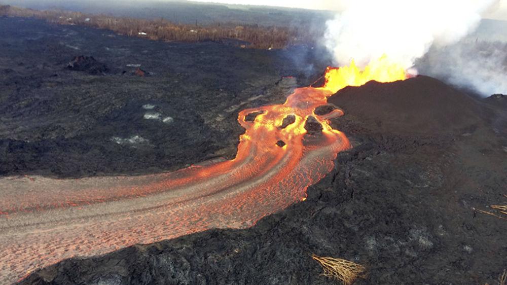 Erupção do vulcão Kilauea no Havaí