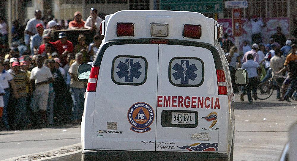 Ambulance in Venezuela (File)