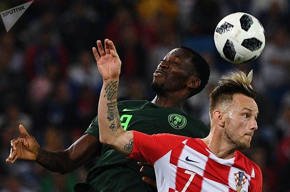 Croácia e Nigéria se enfrentaram em Kaliningrado