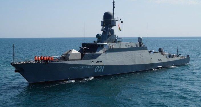 Corveta da Marinha russa Grad Sviyazhsk do projeto Buyan-M