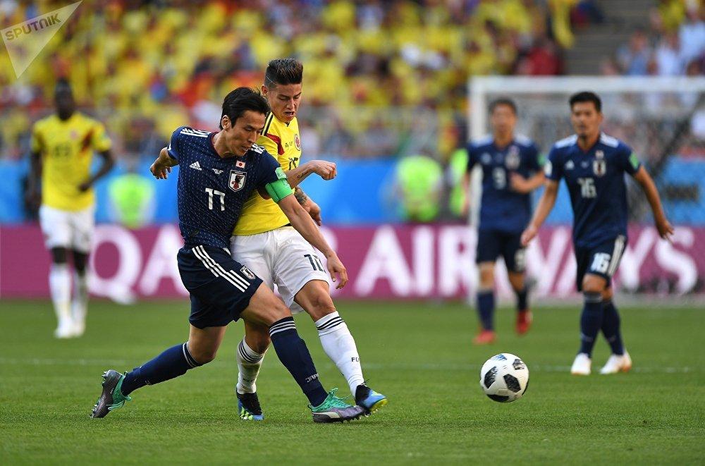 Japão e Colômbia se enfrentaram em Saransk, pela 1ª rodada do grupo H