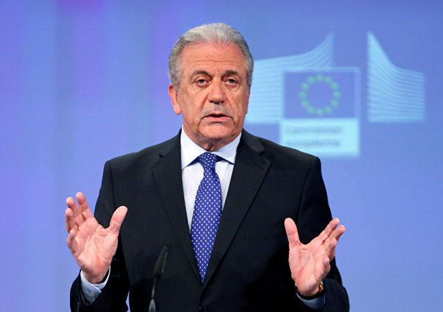 European Commissioner for Migration and Home Affairs Dimitris Avramopoulos.