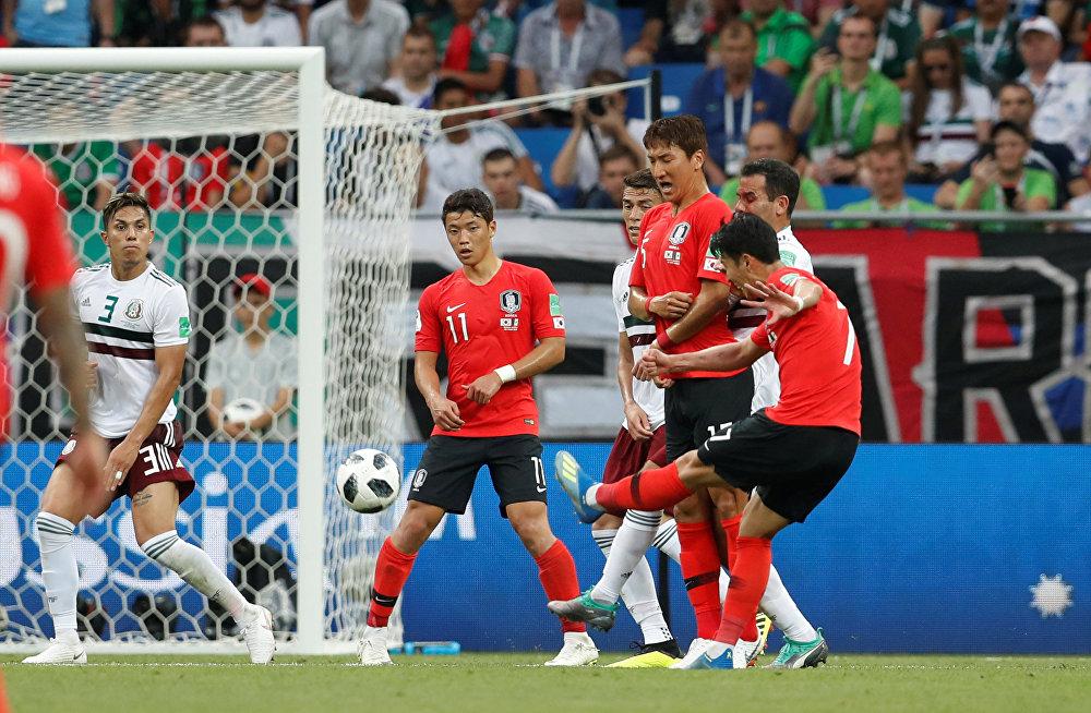 México 2 x 1 Coreia do Sul - Son Heung-min descontou para os sul-coreanos nos acréscimos