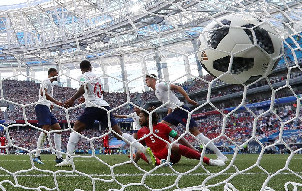 A rede balança em partida entre Inglaterra e Panamá pelo Grupo G da Copa do Mundo da Rússia