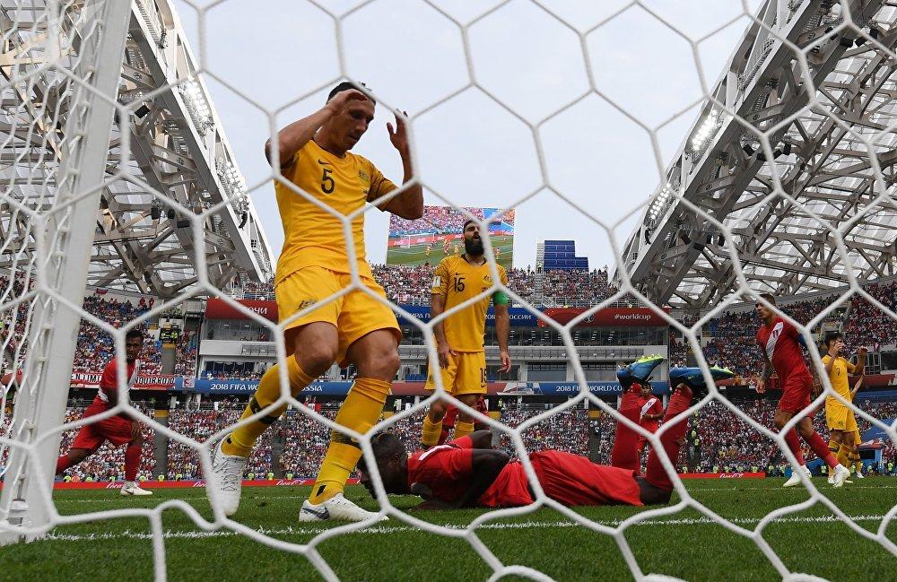 Peru derrotou a Austrália por 2 a 0 em Sochi nesta terça-feira, 26 de junho, pela terceira rodada do grupo C