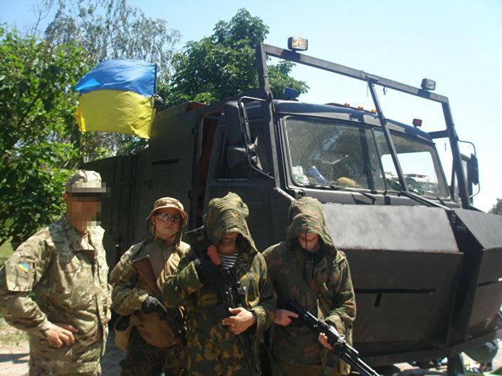 Base do batalhão Azov, em Mariupol