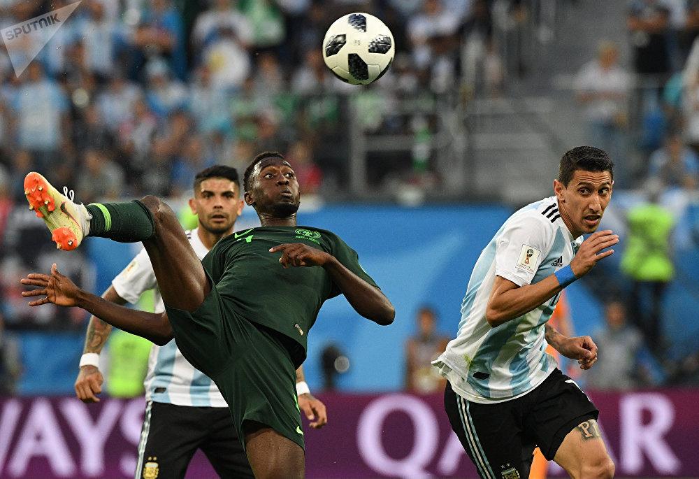 Nigéria e Argentina fizeram um jogo emocionante em São Petersburgo nesta terça-feira