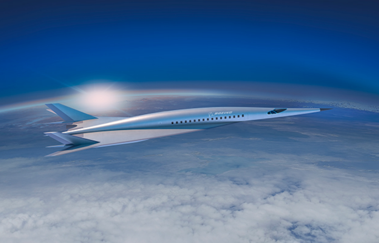 Boeing revela modelo de avião hipersônico capaz de sobrevoar o Atlântico em duas horas
