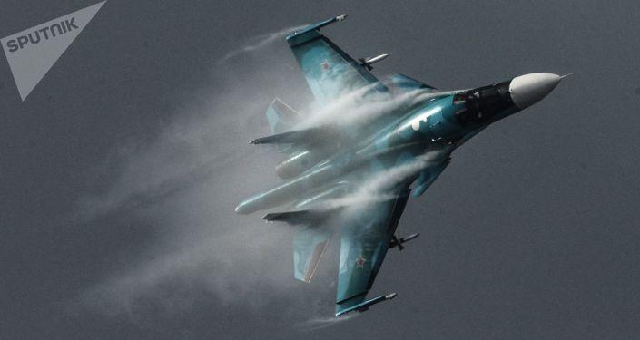 Avião Su-34 (imagem referencial)