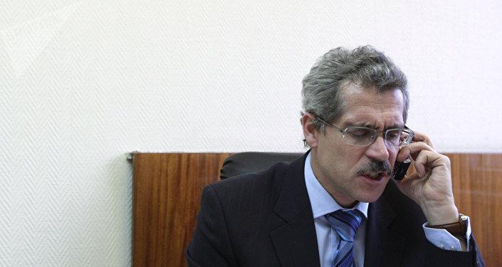 Grigory Rodchenkov, ex-diretor do laboratório antidoping de Moscou (foto de arquivo)