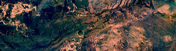 Vale Uzboi, via do maior rio seco de Marte