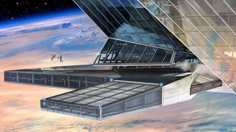 Imagem ilustrativa da 1ª nação do espaço, Asgardia