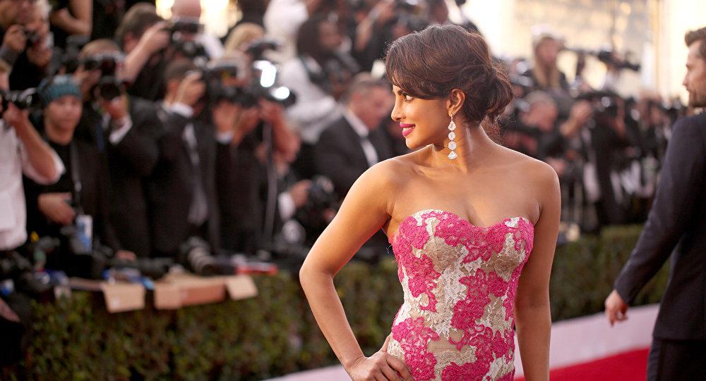 Atriz indiana Priyanka Chopra