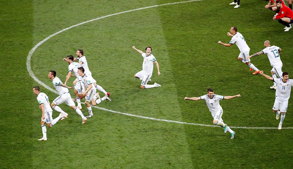 Rússia vence a Espanha nos pênaltis nas oitavas de final da Copa do Mundo 2018
