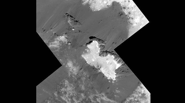 Superfície do planeta anão Ceres, captada pela sonda Dawn da NASA