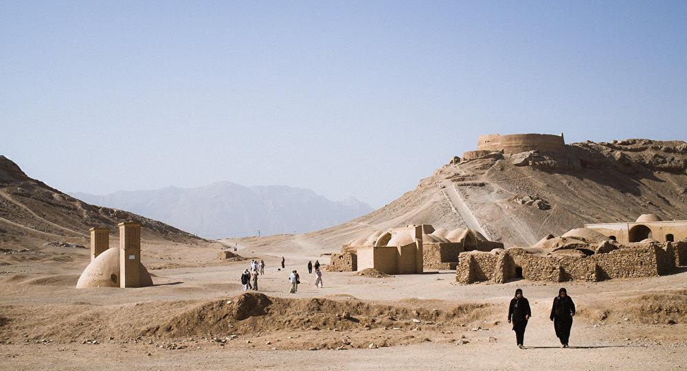 Torre do Silêncio (Dakhma), Yazd, Irã
