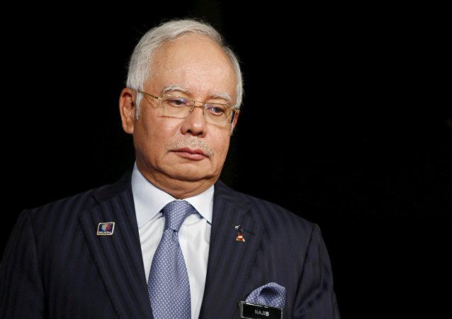 Najib Razak (foto de 2015).