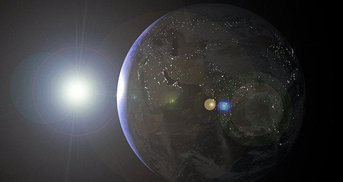 A Terra (imagem referencial)