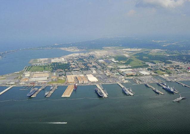 Base naval da Frota do Atlântico da Marinha dos EUA, Norfolk, EUA