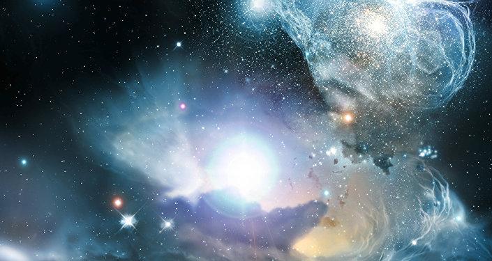 Quasar em primeiros dias da vida do Universo