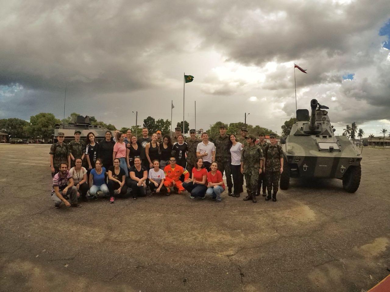 Parceria entre as Forças Armadas e o Instituto Dharma no atendimento aos refugiados venezuelanos que chegam ao Brasil