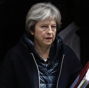 Theresa May, primeira-ministra do Reino Unido