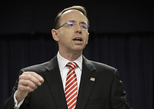 Rod J. Rosenstein, vice-procurador-geral dos Estados Unidos