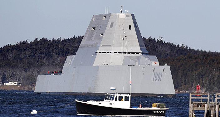 USS Michael Monsoor, segundo navio de guerra norte-americano da classe Zumwalt