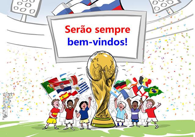 Rússia se despede da Copa com gostinho de quero mais