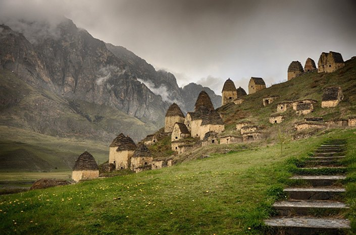 Dargavs – a mística cidade dos mortos na Ossétia do Norte-Alânia, Rússia