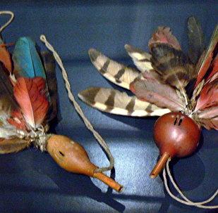 Artefato indígena do Museu da Etnologia de Viena