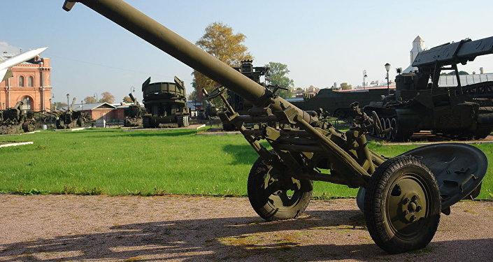 Morteiro M-160 (foto de arquivo)
