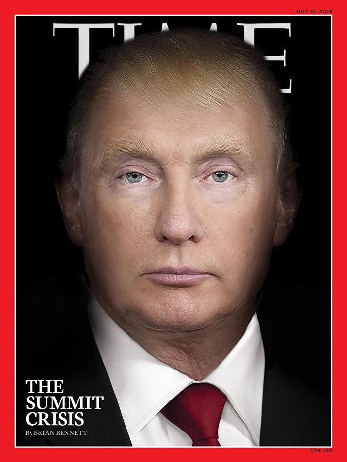 Capa da revista Time