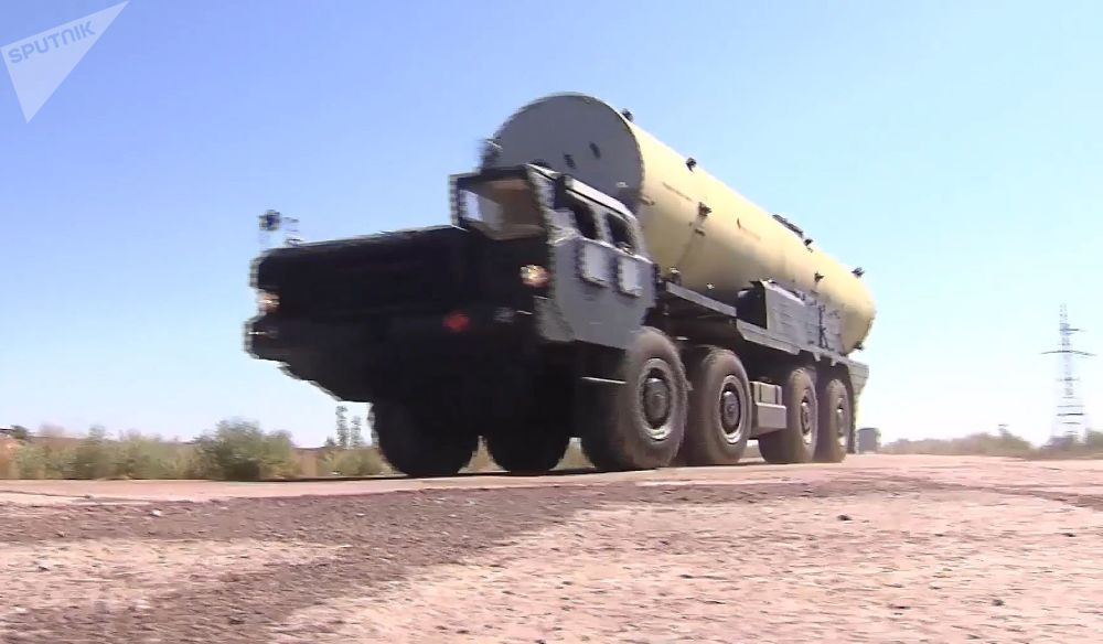 Novo míssil do sistema de defesa antimíssil russo