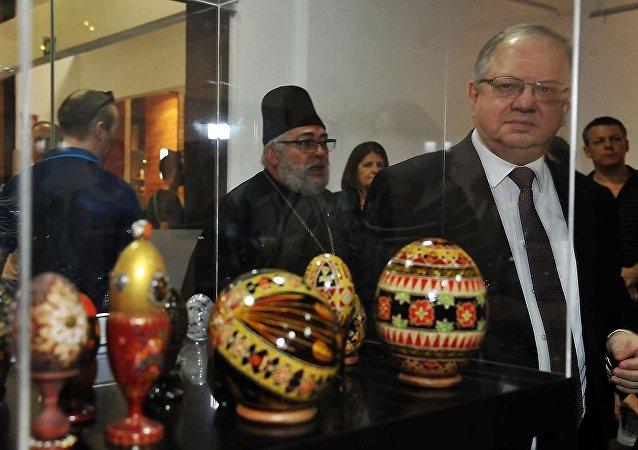 Embaixador da Rússia no Brasil, Sergei Akopov