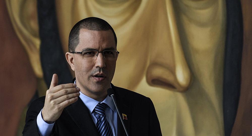 Сhanceler venezuelano Jorge Arreaza