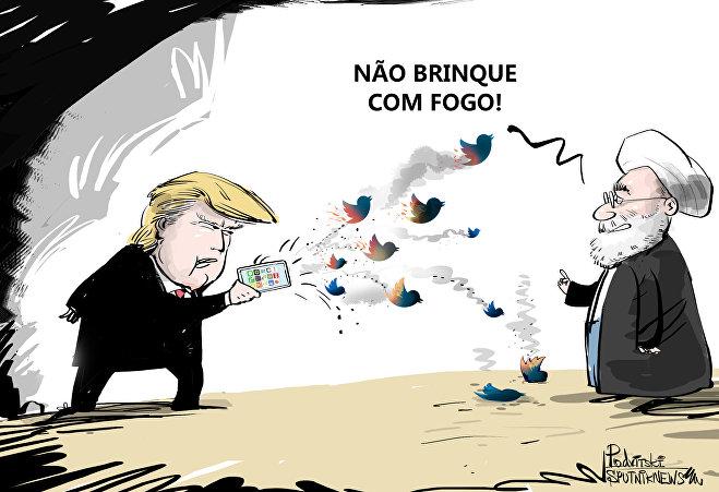 Trump e seus 'pássaros furiosos'