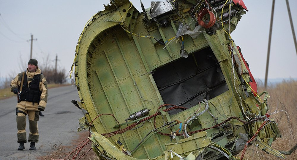 Local da queda do MH17 derrubado na Ucrânia.