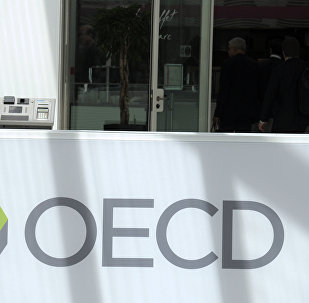 Logo da Organização para o Desenvolvimento Econômico e Social.
