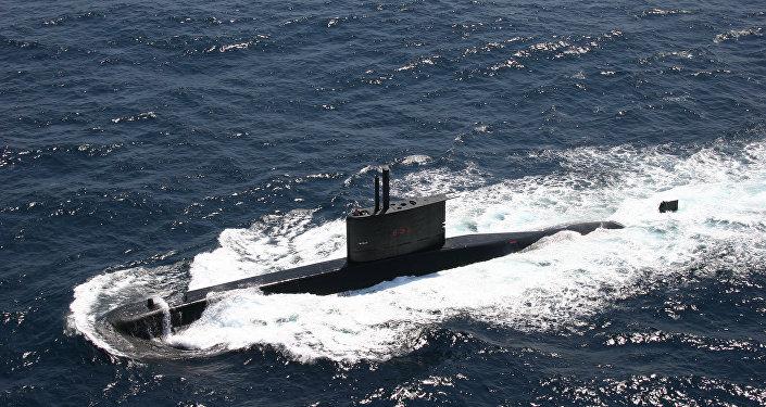 Submarino da Marinha brasileira da classe tupi (arquivo)