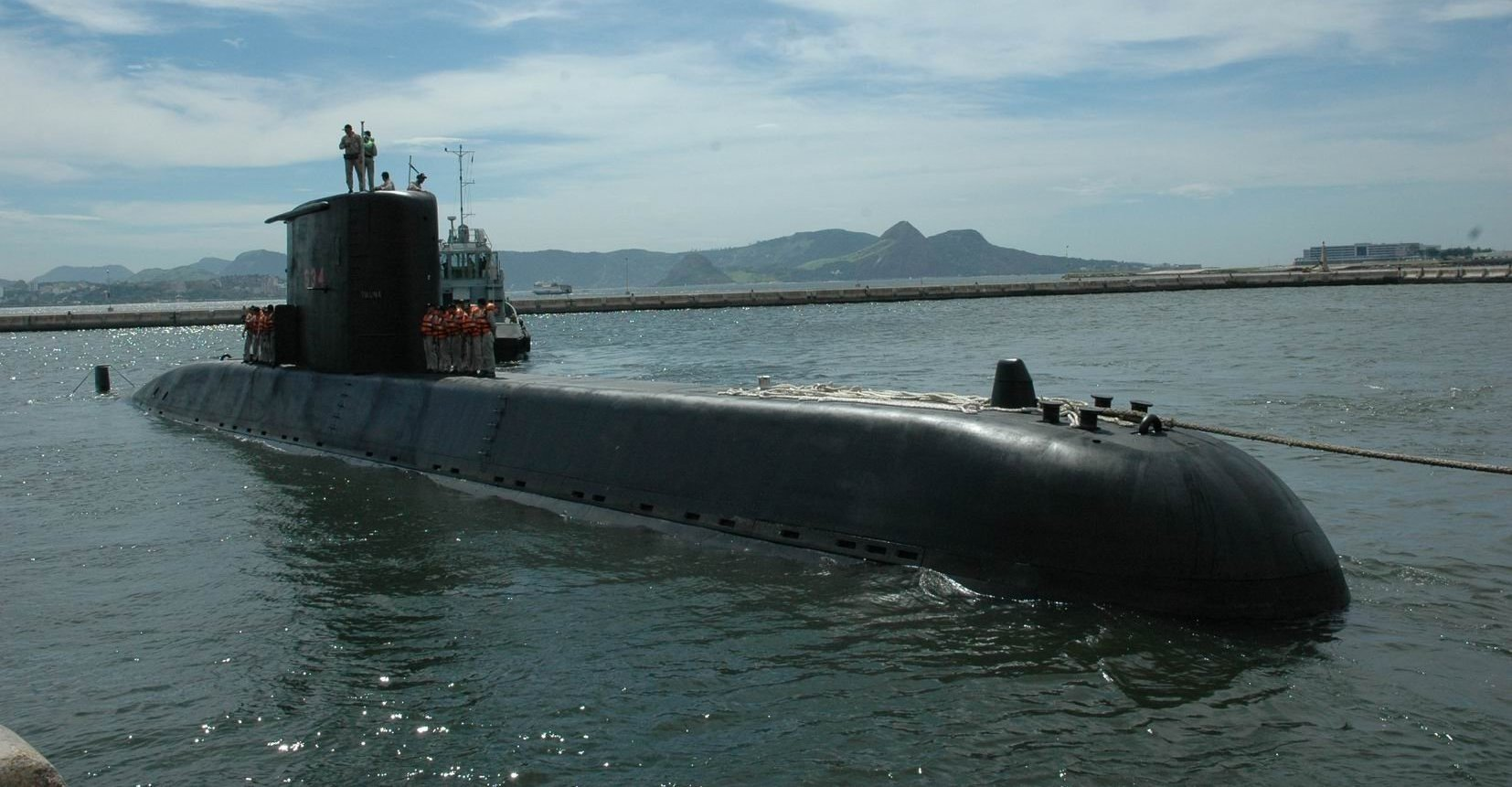 Submarino da Marinha brasileira da classe tikuna